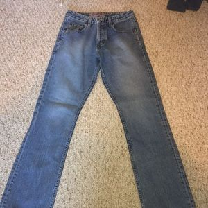 Silver Jeans Blue Denim Straight Leg Size 28 x 32